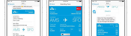 Conversational Text Messaging Solutions - airlines and the arrival of conversational commerce