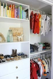 organized baby closet design decoration