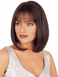 pictures of bob hairstyle for round face thin hair medium bob hairstyles with thin bangs for thick hair and round