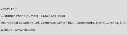 Vanity Fair Greensboro Nc Vanity Fair Customer Service Phone Number Contact Number Toll