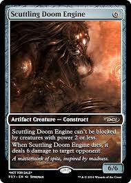target doom black friday scuttling doom engine mtg digital rendering pinterest doom