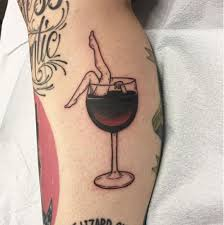 traditional wine tattoo ben johnson electric hand tattoo in