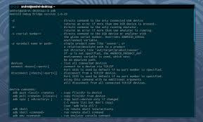 android shell commands install adb and fastboot android tools in ubuntu via ppa putokaz
