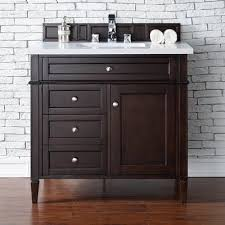 36 Bathroom Vanity With Drawers by James Martin Furniture Brittany 36