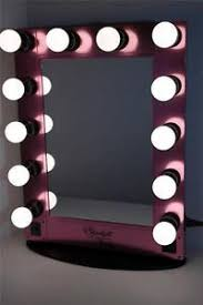 Vanity Makeup Mirrors Starlight Hollywood Lighted Vanity Makeup Mirror Table Top W
