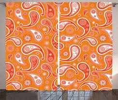 Orange Panel Curtains Compare Price To Burnt Orange Panel Curtains Tragerlaw Biz