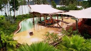 remote jungle paradise pool video hgtv
