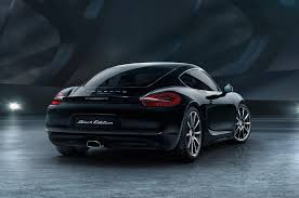 porsche boxster 2016 black 2016 porsche cayman joins black edition lineup