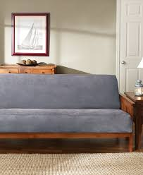 Daybed Mattress Slipcover Amazon Com Sure Fit Soft Suede Sherpa Futon Slipcover
