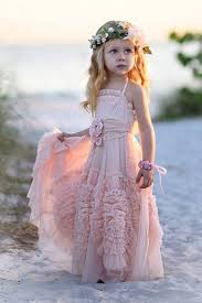 flower girl dresses boho style flower girl dresses the faded sunflower