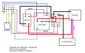 wiring diagram for a thermostat wiring diagrams
