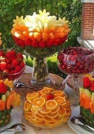 fruit table display ideas cool foodie ideas for your next party chef creative crowd