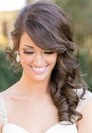 side swoop hairstyles long wedding hairstyles side swept wedding hairstyle