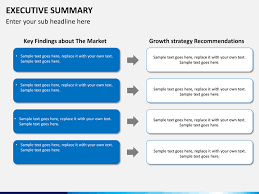 executive summary powerpoint template casseh info