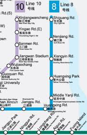 Shanghai Metro Map Literal English Map Of The Shanghai Subway Is Amazing And