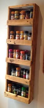 spice cabinets for kitchen reclaimed wood spice shelf wooden spice shelf spice shelf like this