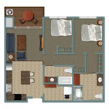 Living Room Floor Plan by Independent Living Room Options Peaceful Pines Senior Living