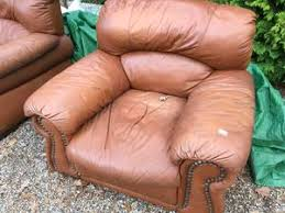 Second Hand Leather Armchair Used Armchairs For Sale Friday Ad