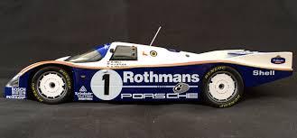rothmans porsche 962 derek bell signed 1 18 porsche 962 le mans 1986