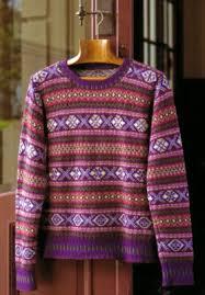 fair isle knitting japanese needle arts knitting fair isle
