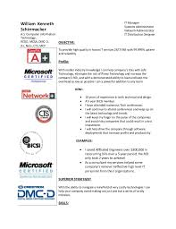 Cio Resume Samples by Cio Resume