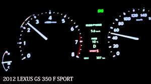 lexus gs350 f sport horsepower lexus gs350 f sport engine sound 2012 new youtube