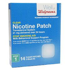 walgreens nicotine patches 21 mg walgreens