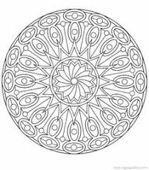 flower mandala decorative ornaments anti stress therapy