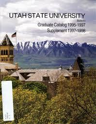 1995 98 graduate catalog by usu digital commons issuu