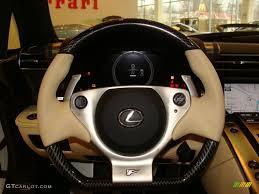 lexus lfa dashboard 2012 lexus lfa coupe cream steering wheel photo 60723961