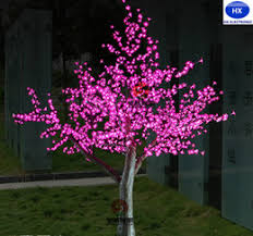 led lighted artificial trees artificial lighted