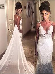 Cheap Lace Wedding Dresses Simple Lace Bridal Gowns Simple