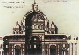 chi ha progettato la cupola di san pietro san pietro