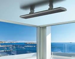 2400w radiant patio heater slimline outdoor strip heaters electric