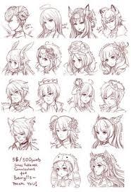 Cute Anime Hairstyles Src Batch6 By Omocha San Deviantart Com On Deviantart Cute