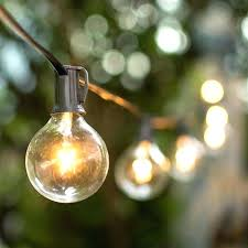 Solar Powered Patio Lights String Solar Powered Globe Garden Lights Hydraz Club