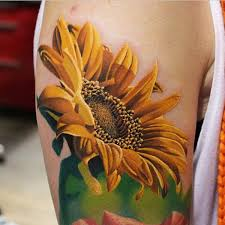 75 vibrant and inspirational sunflower tattoos