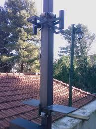 tralicci per radioamatori il palo prima delle antenne