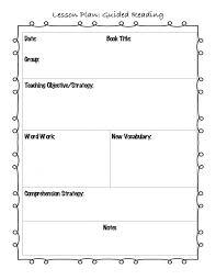 plan lesson plan template