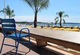 chaises cann es chaises bleues de cannes image stock image du riche