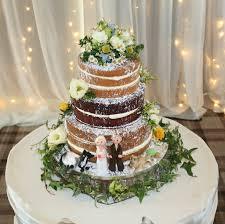 wedding cake flower 3 tier wedding cake with fresh flowers sugar figures