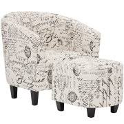 Accent Chairs And Ottomans Accent Chairs With Ottomans