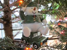 jeep christmas ornament mixed memories and our traveling tree gifts of the journey