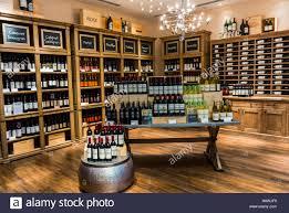 Liquor Display Shelves by San Francisco Ca Usa Wine Bottles On Display In Shelves