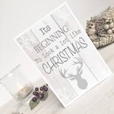 a personalised christmas card to give to either your husband or