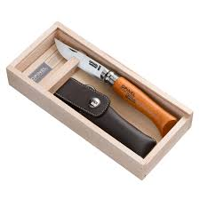 opinel kitchen knives opinel no 8 knife gift set includes sheath modern pioneer