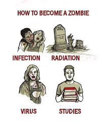 Funny Zombie Memes - how to become a zombie