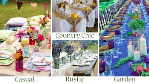 Pictures Of Backyard Wedding Receptions Your Outdoor Wedding Reception U2013 What U0027s Your Style Exclusively