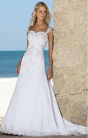 line wedding dresses a line white dot lace chapel wedding dresses on sale a
