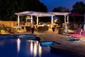 outdoor kitchen lights outdoor living lighting specialists evening shadows evening